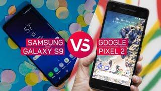 Galaxy S9 vs. Pixel 2