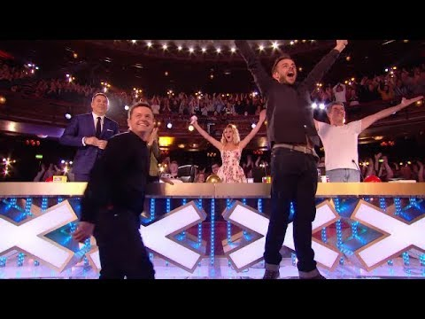 The First Golden Buzzer Britain's Got Talent 2018 | Magic & Emotion Make You Cry