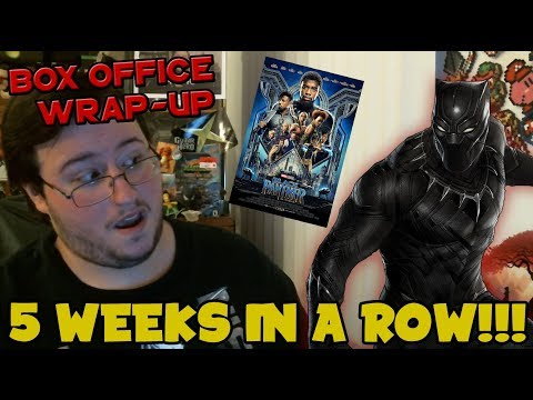 connectYoutube - Black Panther is KING for 5th Time in a Row! - Box Office Wrap-Up (March 16th-18th)