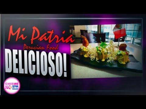 VEN A PROBAR LO MEJOR DE LA COMIDA PERUANA! MI PATRIA PERUVIAN RESTAURANT - CHISME NO LIKE