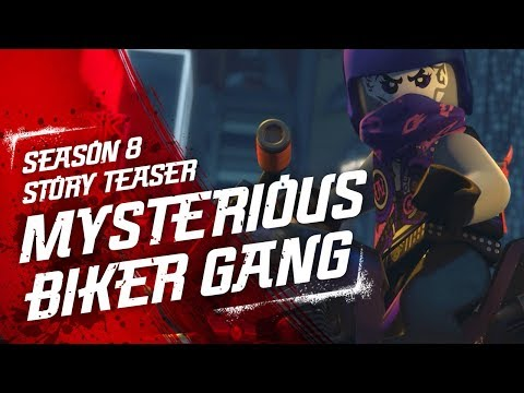 Mysterious Biker Gang - LEGO NINJAGO - Sons of Garmadon Season 8 Teaser