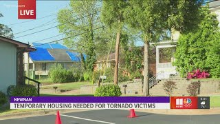 Temporary housing needed for tornado victims in Newnan