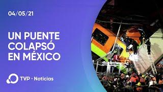 Un puente colapsó al paso del metro en México y hay al menos 23 muertos