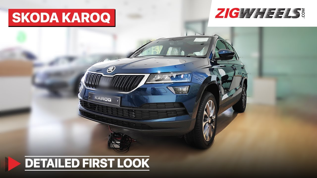2020 Skoda Karoq Walkaround Review I Price, Features & More | ZigWheels