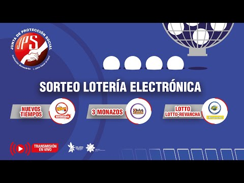 Sorteo Lotto y Lotto Revancha #2170, Nuevos Tiempos Reventados #18840 y 3 Monazos #1266. 25-9-21 JPS