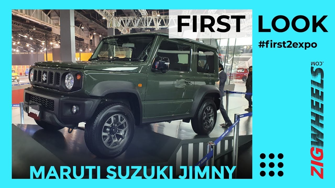 Maruti Jimny coming to India! First Look Review | Unveiled at Auto Expo 2020| ZigWheels.com