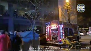 Una persona muerta y otras 21 hospitalizadas tras el incendio de una residencia de ancianos