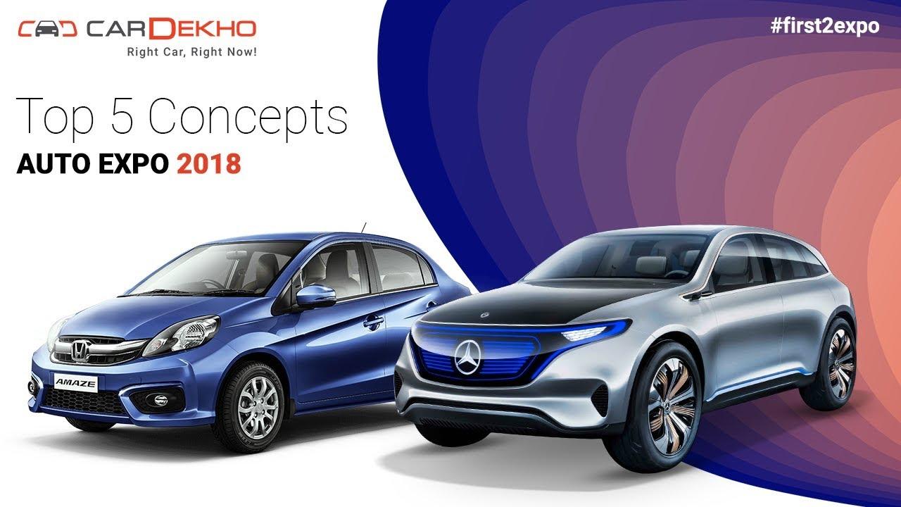 Top 5 Concepts @ Auto Expo 2018