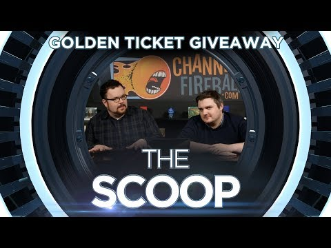 Golden Ticket Gameshow Giveaway - THE SCOOP for Monday 3/12/18