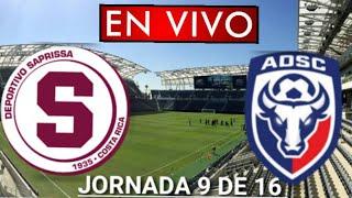 Donde ver Saprissa vs. San Carlos en vivo, por la Jornada 9 de 16, Liga Costa Rica
