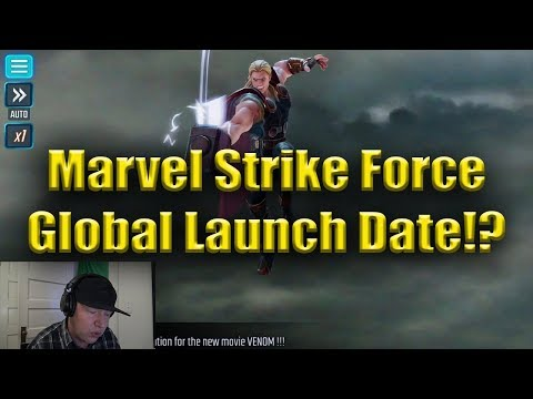 Global Release Date!? | Marvel: Strike Force
