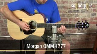 Morgan OMM 1777 Acoustic Guitar Demo at Sound Pure