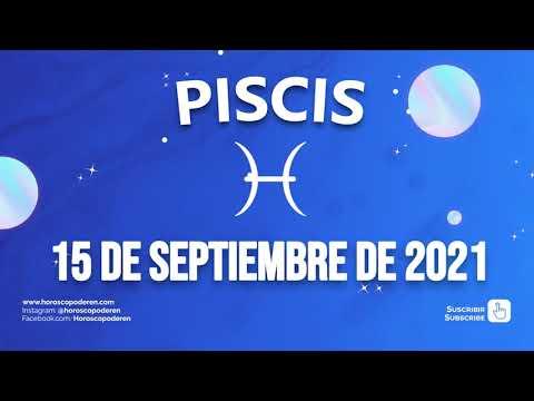 Horoscopo De Hoy Piscis - 15 de Septiembre de 2021