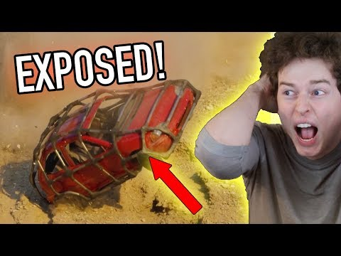 Redneck Drives a Duct Taped Car Off a Cliff EXPOSED! (PROOF) FiberFix Commercial Review