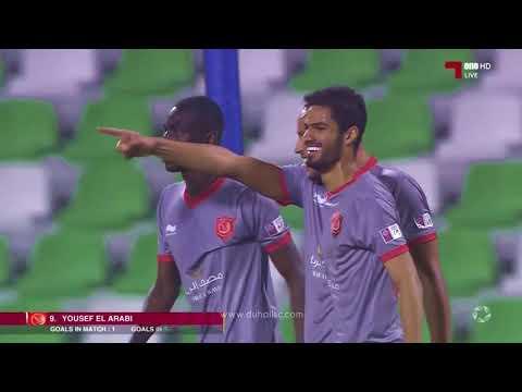 هدف يوسف العرابي في مرمى السيلية - بطولة قطر -