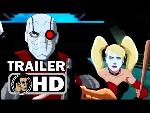 SUICIDE SQUAD: HELL TO PAY Official Trailer (2018) DCEU Superhero Animated Movie HD
