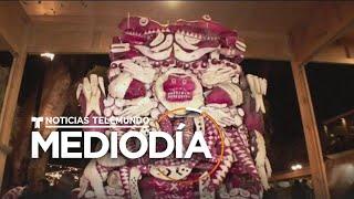 México celebra la tradicional 'Noche de rábanos' en Oaxaca   Noticias Telemundo