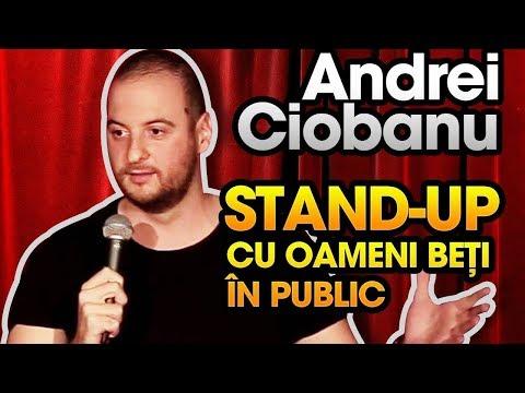 connectYoutube - Andrei Ciobanu - Stand-up comedy cu oameni beți în public (@Club 99)