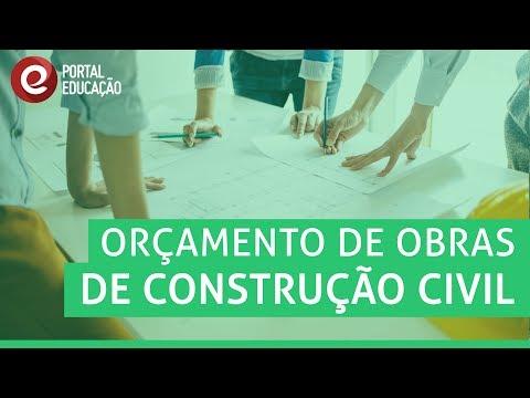 Orçamento de Obras de Construção Civil | Curso