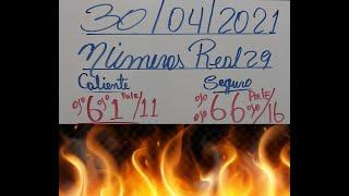 NÚMEROS DE HOY VIERNES 30/04/2021 DE ABRIL PARA TODAS LAS LOTERIAS(NÚMEROS PARA HOY 29)