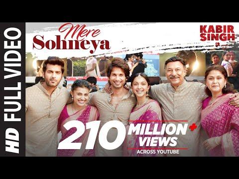 Full Song: Mere Sohneya | Kabir Singh | Shahid K, Kiara A, Sandeep V | Sachet - Parampara | Irshad K