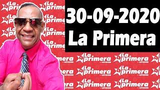 Resultados y Comentarios LOTERIA LA PRIMERA 30-09-2020 (CON JOSEPH TAVAREZ)