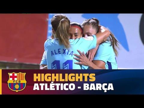 [HIGHLIGHTS] FUTBOL FEM (Liga): At. Madrid - FC Barcelona (1-1)