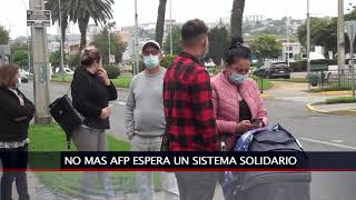 """04 JUN 2021 Coordinadora No Mas AFP  defiende propuesta de """"sistema solidario"""""""