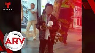 Hijo de El Chapo regala juguetes con las iniciales de su padre   Al Rojo Vivo   Telemundo