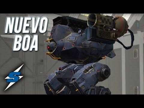 NUEVO BOA en TEST SERVER 3.4.0 | SORILOKO War Robots