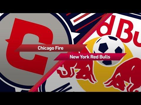 Highlights: Chicago Fire vs. New York Red Bulls   September 9, 2017