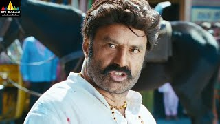 Legend Movie Scenes | Balakrishna Warning to Jagapathi Babu| Latest Telugu Scenes | Sri Balaji Video - SRIBALAJIMOVIES