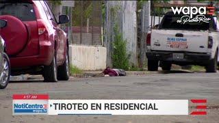 Tiroteo siembra el pánico en residencial de Río Piedras