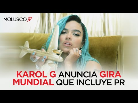 Karol G anuncia gira MUNDIAL y dice el porque para ella es IMPORTANTE hacer El Choli