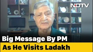 PM's Ladakh Visit Big Boost For Forces' Morale: Ex-Army Chief - NDTV