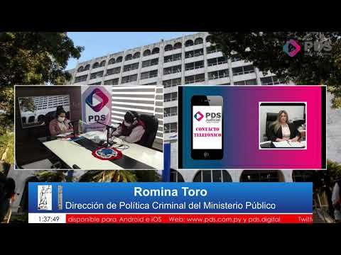 Entrevista- Romina Toro Dirección de Política Criminal del Ministerio Público