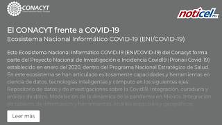 Conacyt lanza plataforma Covid-19
