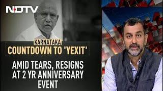 BS Yediyurappa Resigns As Karnataka Chief Minister - NDTV