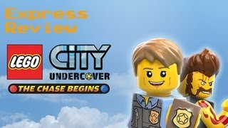 Lego City Undercover The Chase Begins (3DS) Микрообзор.