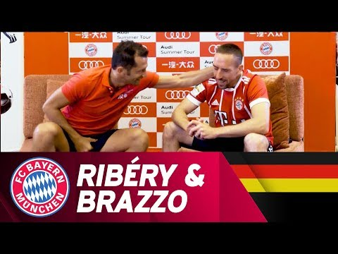 Head to Head - Brazzo & Ribéry im Gespräch | Audi Summer Tour 2017