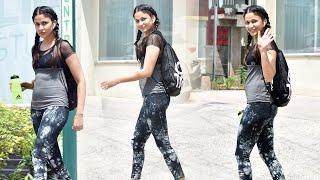 Actress Lavanya Tripathi EXCLUSIVE Visuals At Gym Outside | Telugu Actress Gym Videos | TFPC - TFPC