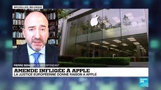 Le tribunal de l'Union européenne donne raison à Apple