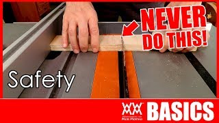 6 Keys to Shop Safety | WOODWORKING BASICS