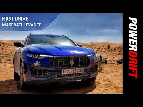 Maserati Levante : First Drive : PowerDrift
