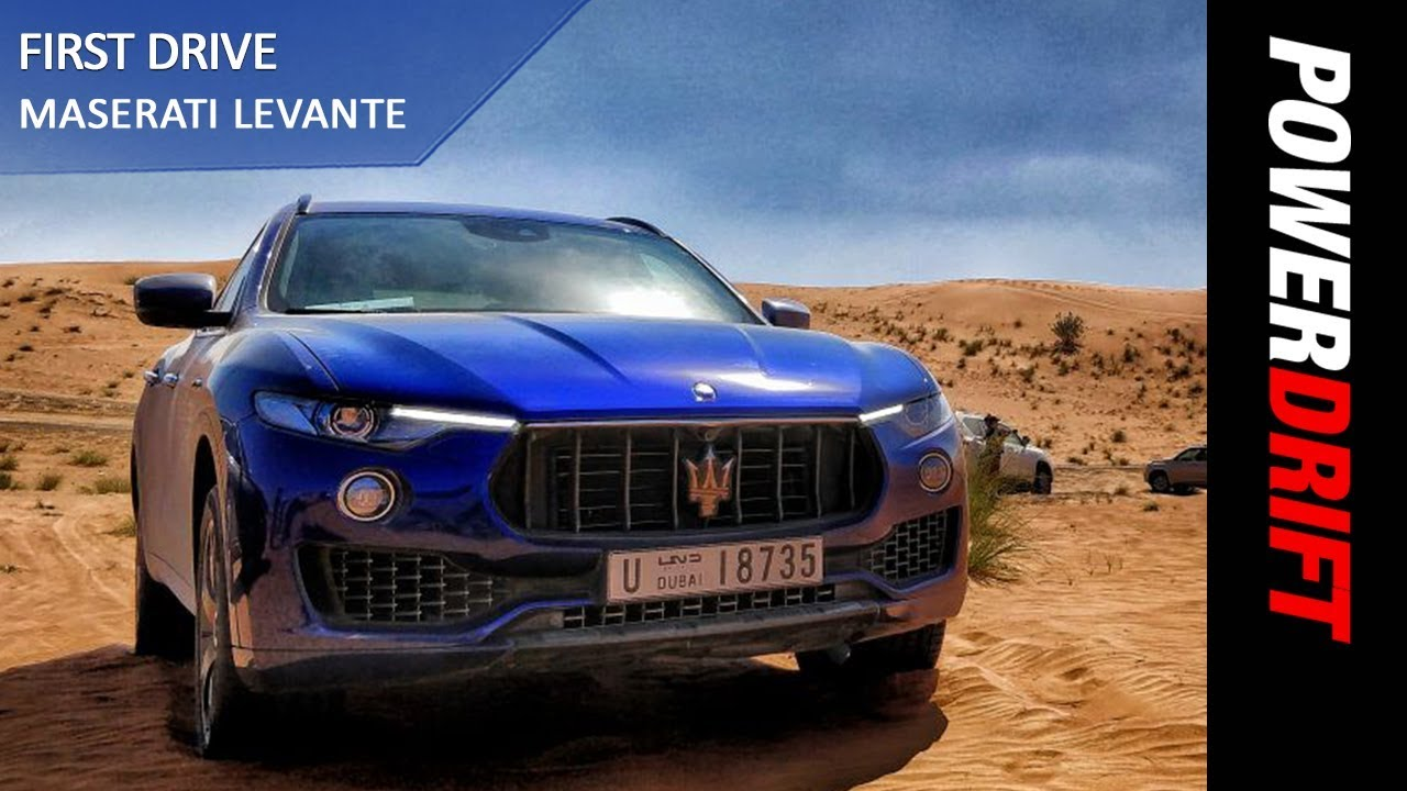 Maserati Levante : First Drive : PowerDrift