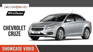 #first2expo: Chevrolet Cruze | Showcase Video | Cardekho@AutoExpo2016