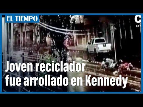 Joven fue arrollado por una camioneta en Kennedy