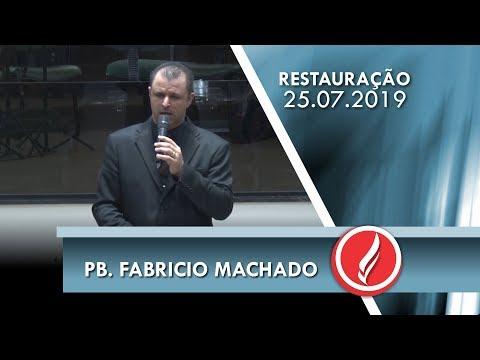 Pb. Fabricio Machado   Os planos de Deus   Atos 2.37   25 07 2019