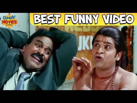 Hindi Comedy Scenes | Venu Madhav and Ali Comedy | Dushmani Hindi Dubbed Movie | Best Funny Videos
