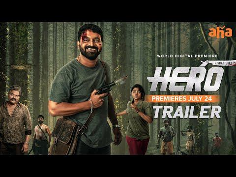 HERO Trailer   Rishab Shetty, Ganavi Laxman   Bharath Raj   Premieres July 24